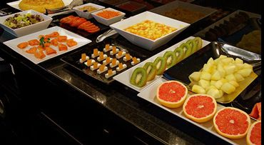 fruta para hoteles